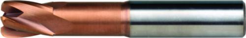 Dormer End mill S536 SC Titanium-Silicium-Nitride 12.0XR2.0