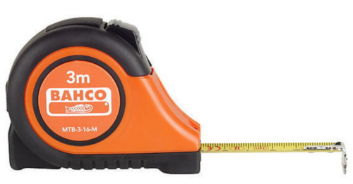 Bahco Measuring tapes MTB 3M X 16MM