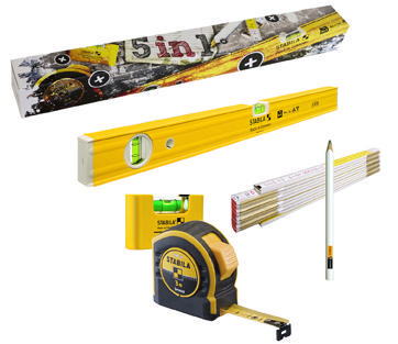 Stabila Handgereedschappen deals STABILA 5 IN 1 SET
