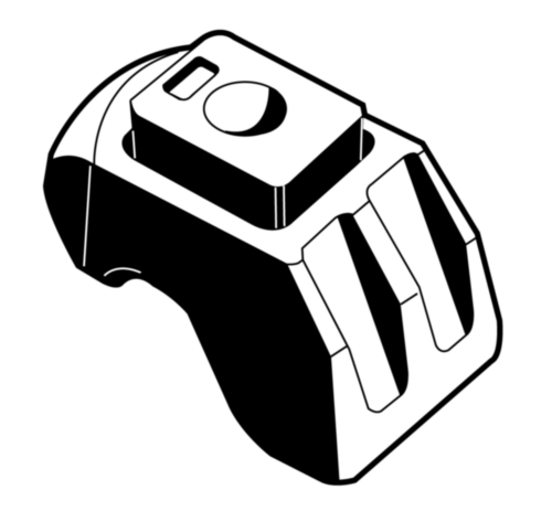 Zelfinstellende klem  Nodulair gietijzer  Thermisch verzinkt