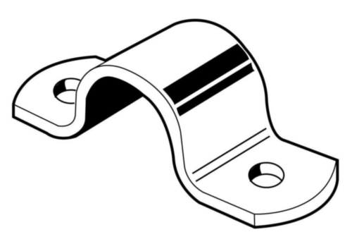 Full pipe clamps steel