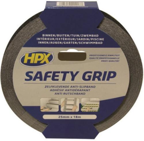 HPX Anti-slip tape Zwart 25MMX18M SB2518