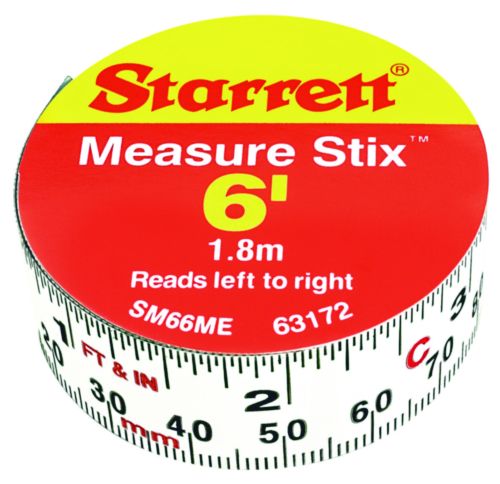 STAR MEASURING TAPE SM66ME 19MMX2M