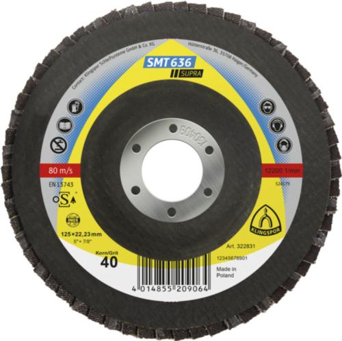 Klingspor Flap disc 115X22,23