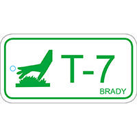 Brady Energy source tag thermal 7 25PC