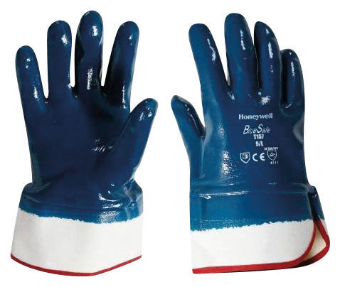 Honeywell Chemical resistant gloves T157 BLUESAFE KAP L