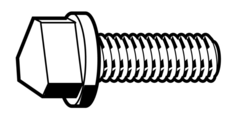 Triangle head bolts