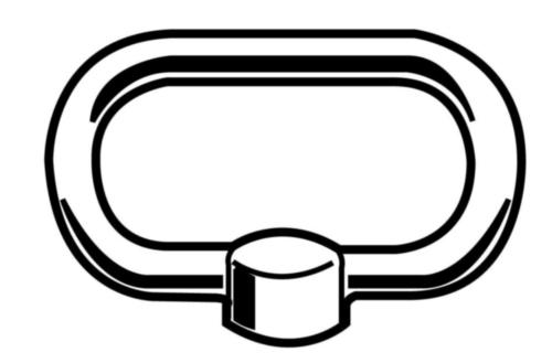 Clamp nut  DIN 28129  Steel  Zinc plated