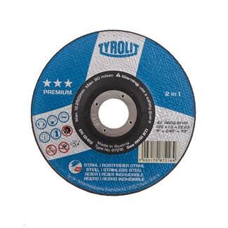 Tyrolit Cutting wheel 87216 125X1,0X22,2