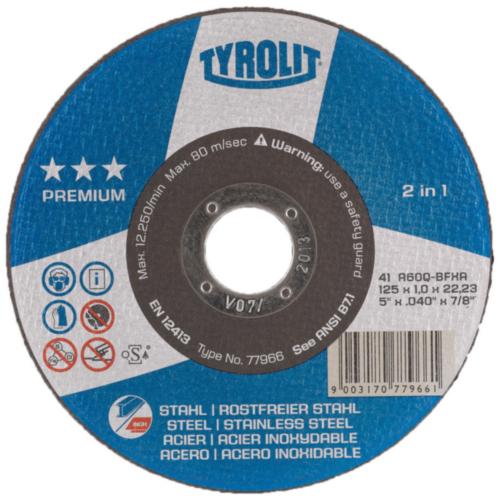 Tyrolit  Doorslijpschijf  77965