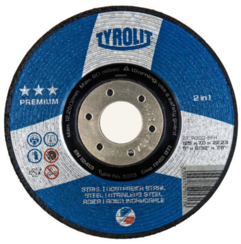 Cutting-off & grinding wheels