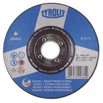 Tyrolit Disco de rebarbar 297325 115X6,0X22,2MM