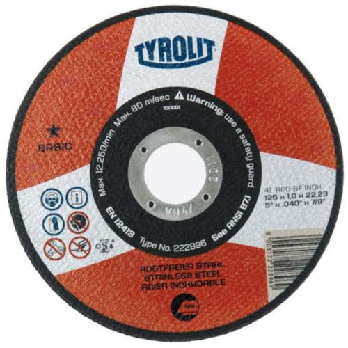 Tyrolit Disco de corte 222894 115X1,0X22,2MM