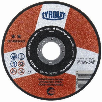 Tyrolit Disco de corte 367581 230X1,9X22,2