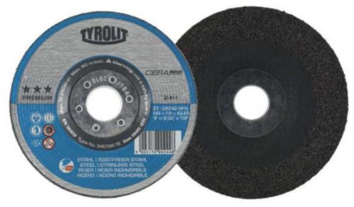 Tyrolit Cutting wheel 34019880 CA46Q 125X1,6X22,23