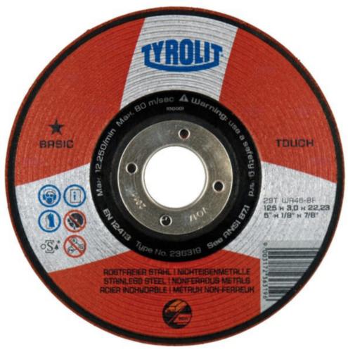 Tyrolit Grinding disc 236318 115X3X22,2
