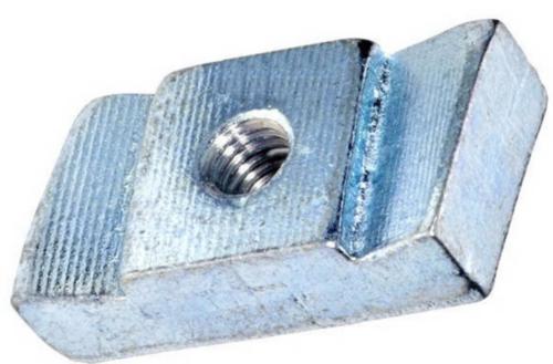 Glijmoer 50/30 Staal Elektrolytisch verzinkt