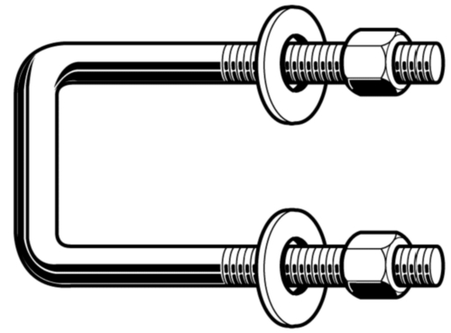 Imperial U-bolts square