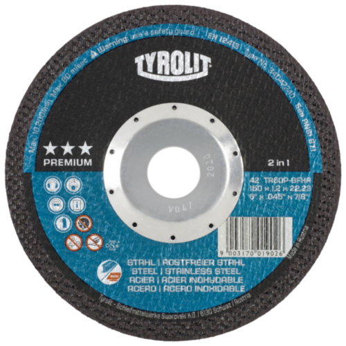 Tyrolit Cutting wheel 125X1,2X22,23