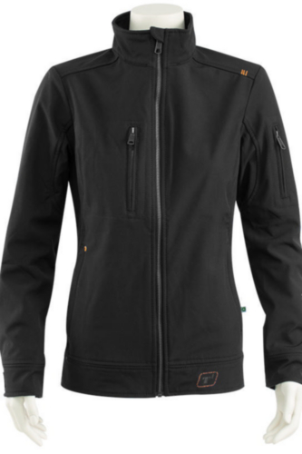 Triffic Softshell jacket SOLID Czarny L