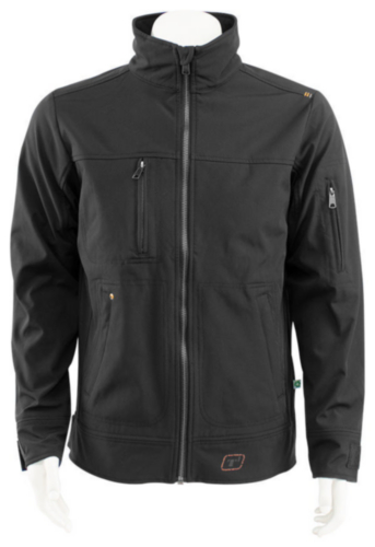 Triffic Softshell jacket SOLID Black XL