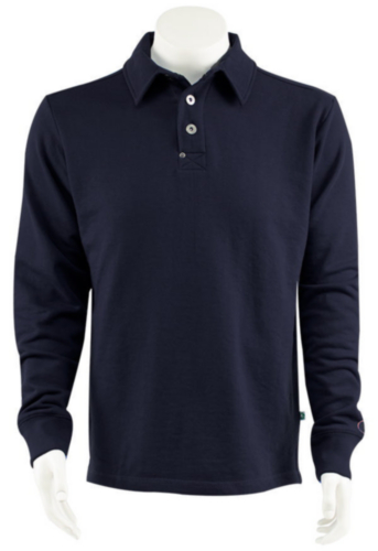 Triffic Polo sweater SOLID Marine blue S