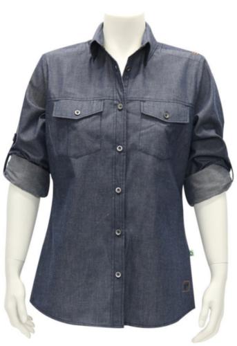 Triffic Shirt STORM Denim blue S