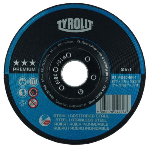 Tyrolit Schleifdisk 100X6,0X16