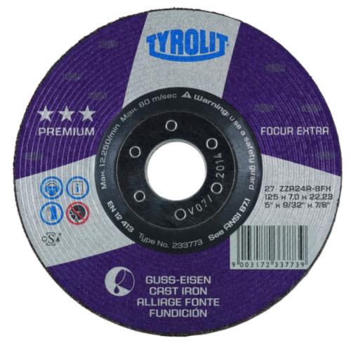 Tyrolit Grinding disc 178X7,0X22,23