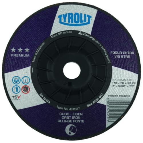 Tyrolit Grinding disc 230X7,0X22,23