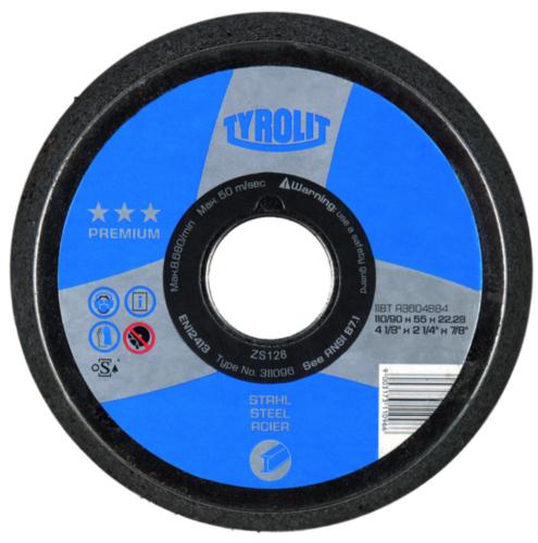 Tyrolit Cup disc 102/76X51X5/8