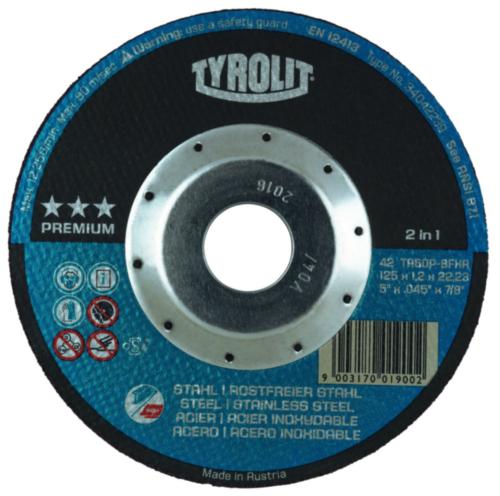 Tyrolit Cutting wheel 125X1,2X22,23