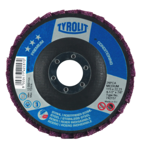 Tyrolit Conditioning disc