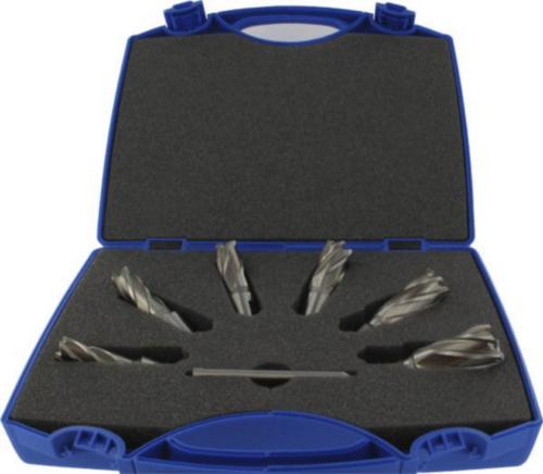 Fabory Core drill Weldon HSS M2 Blanc 7 PCS