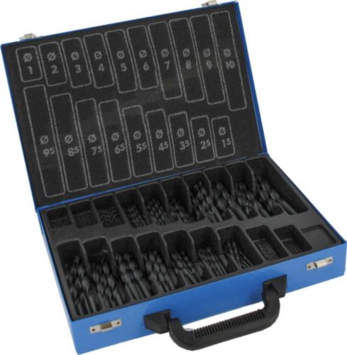 Fabory Jeu de mèche metale DIN 338 RN HSS 1-10 0,5 HSS 170 PC BOX