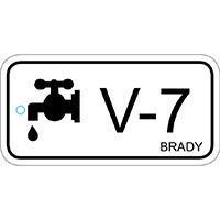 Brady Etiquette source d'energie vanne 7 25PC