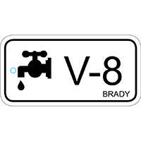 Brady Energy source tag valve 8 25PC
