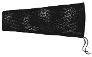 LASMOUW SPLITLEDER (PER STUK) SPLITLEDER