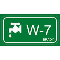 Brady Energy source tag water 7 25PC