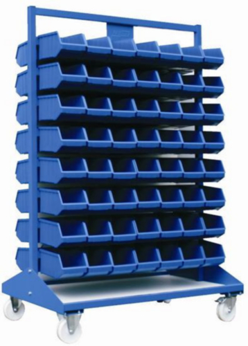Transport cabinets for bins