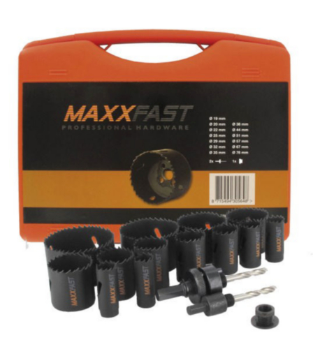 MaxxFast Zestaw otwornic 16 PART COMBI SET