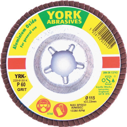 York Flap disc 115X22MM P60