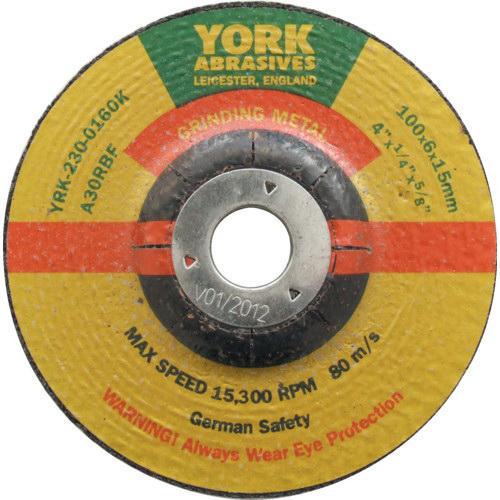York Grinding disc 125X6X22MM