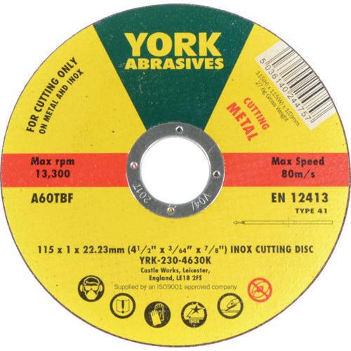York  Cutting wheel  115X1X22MM