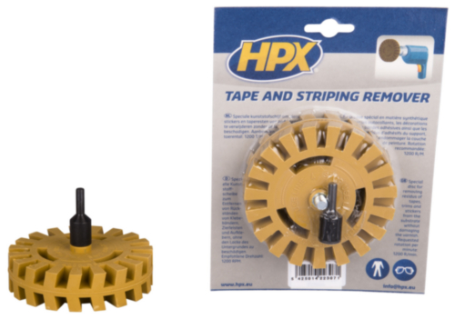 HPX Label remover DISC+AXE L