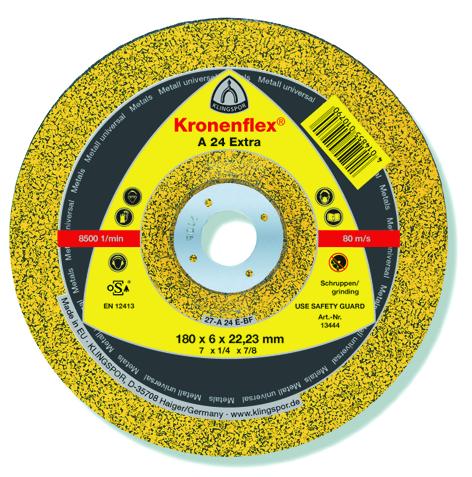 Klingspor Grinding disc 100X6X16