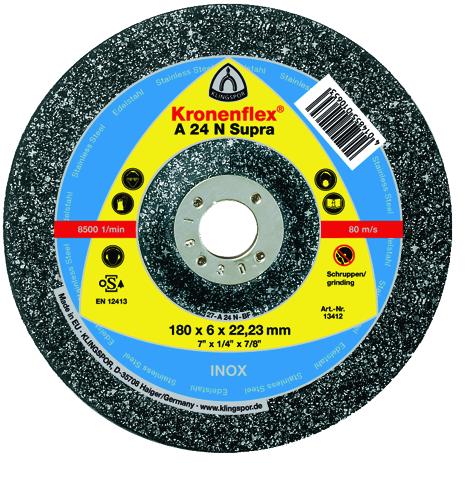 Klingspor Disque de meulage 125X6X22,23