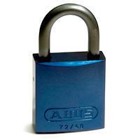 Brady Full alu padlock 25MM SHA KD BLUE 6PC
