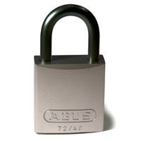 Brady Full alu padlock 25MM KD GREY 6PC