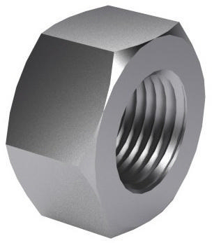 Heavy hexagon nut UNC/8UN ASME B18.2.2 Steel ASTM A194 Plain Gr.2H